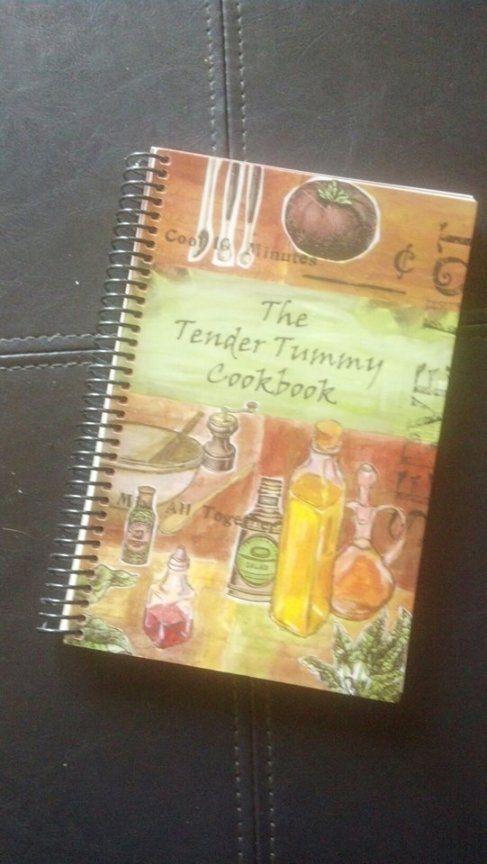 The Tender Tummy Cookbook - By G-PACT.org (their 2nd cookbook)
