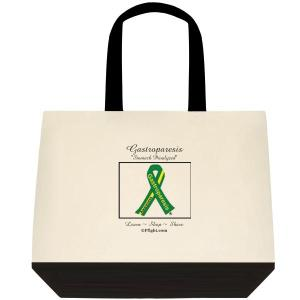 Large Tote with the signature green/yellow ribbon.  Available at The GP Fight Store (GPfight.com)